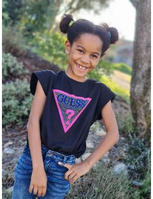 Tee-shirt Guess Selyna noir