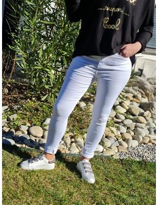 Pantalon Linda blanc