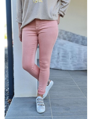 Pantalon Linda rose