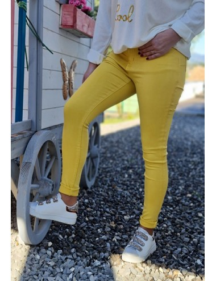 Pantalon Linda jaune