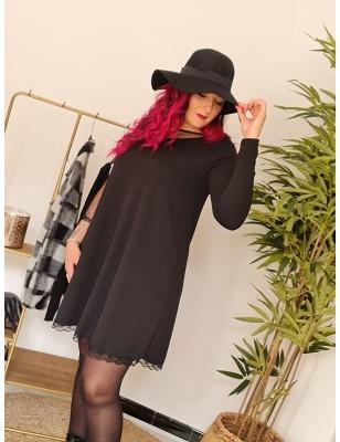 Chapeau nœud noir