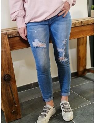 Jeans déchiré Constance