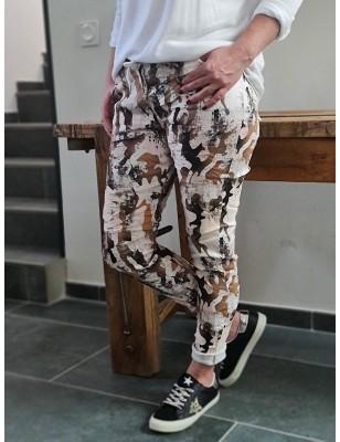 Pantalon léger Britany noir...