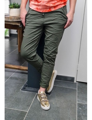 Pantalon baggy Casey kaki