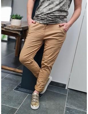 Pantalon baggy Casey camel