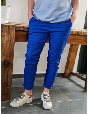 Pantalon baggy Casey bleu...
