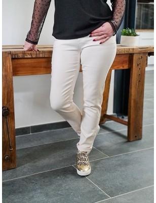 Pantalon Morgan Petra écru