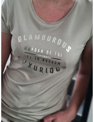 Tee-shirt Morgan Dglam beige