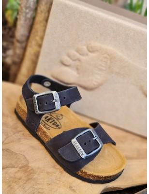 Sandales Plakton Louis noires