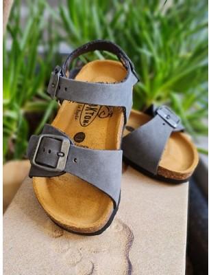 Sandales Plakton Louis grises