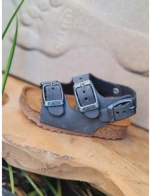 Sandales Plakton Petrol grises
