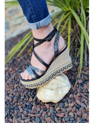 Sandales compensées Justine...