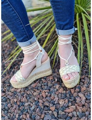 Sandales compensées Eliana...
