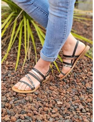 Sandales Mélanie noires