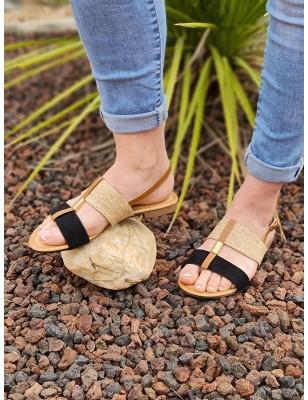 Sandales Lina noires