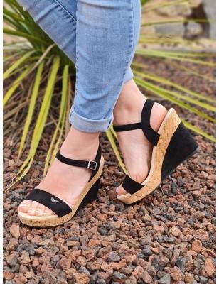 Sandales compensées LPB Mia...