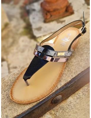 Sandales Virginie noires