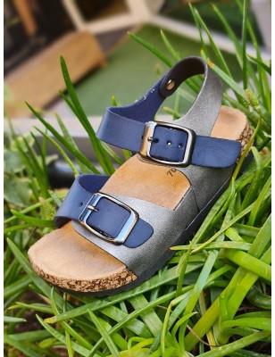 Sandales Loic marine